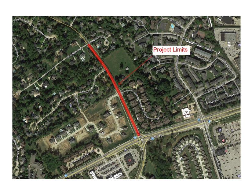 Schoettler Road Project Limits